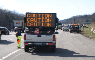 Image of caution sign